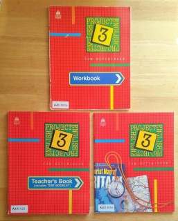 Project English 3, Students Book, Teachers Book, Workbook